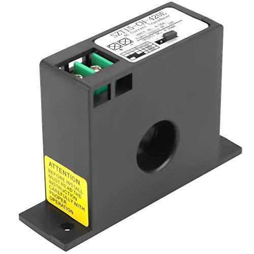 AC Current Transducer, SZT15-C-H-420E 0-50A 4-20mA Current Transducer Transmitter Transformer Sensor AC Current Converter