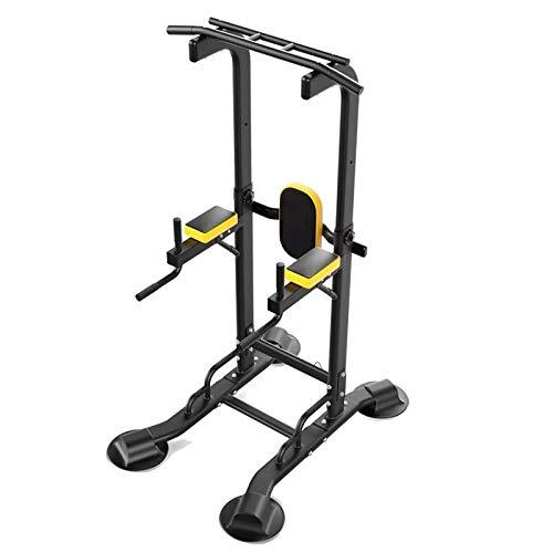 Yoyogi Pull Up Bar Power Tower Stazione Dip Home Gym Training Muscolare apparecchiature Multifunzione Libero Supporto di Regolazione Altezza sostenere Il Peso di 660 libbre, con Coulisse