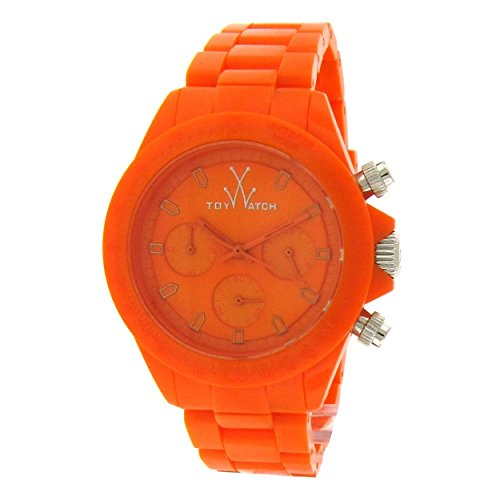 Toy Watch Monochrome Chronograph Orange Dial Unisex Watch MO12OR