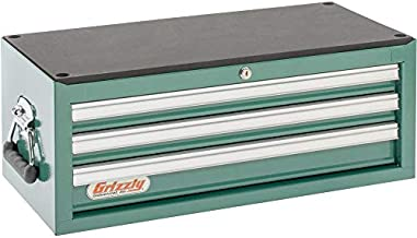 Grizzly Industrial H0837 - 3 Drawer Middle Chest w/ Ball Bearing Slides