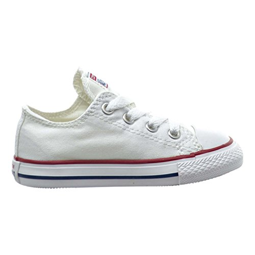 Converse Chuck Taylor All Star OX Toddler Shoes Optical White 7j256 (7 M US)