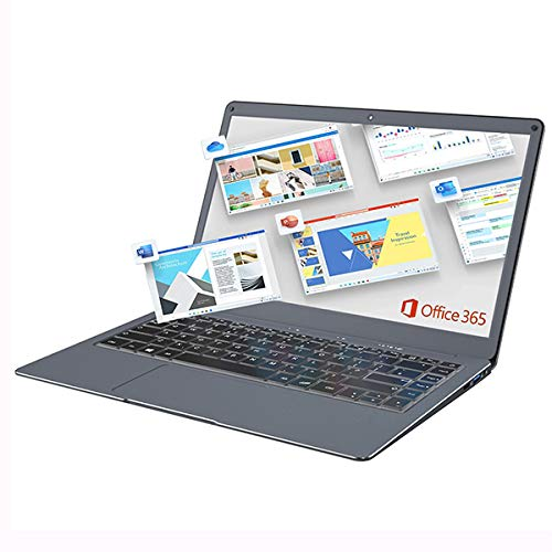 Jumper 13.3 Inch FHD Laptop Microsoft Office 365 Laptop,(4GB DDR3, 64GB eMMC, Expandable Memory 1TB SSD and 256GB TF, Dual Band WiFi, Windows 10, Bluetooth 4.2, Intel Celeron CPU)