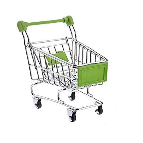 Aiyrchin Herramientas de Juguete Muebles de la casa Creativo del almacenaje Mini Carro de Compras de la máquina de muñecas Accesorio para niños