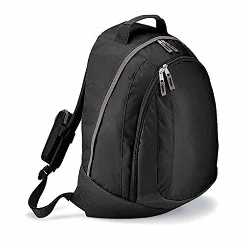 Quadra Teamwear Backpack, Black / Graphite Grey, 49 x 32 x 18 cm