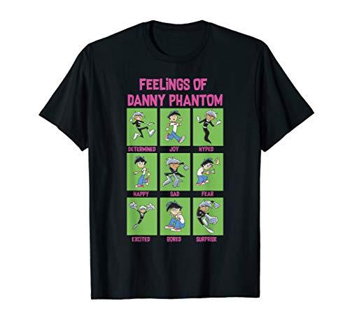 Danny Phantom The Feelings Of Danny Phantom Portrait Grid T-Shirt