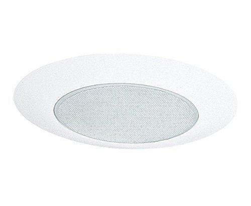 Nicor Lighting 17505 Lexan Shower Albalite Lens Trim for 17000 and 17001R Non IC, 6-Inch by Nicor Lighting