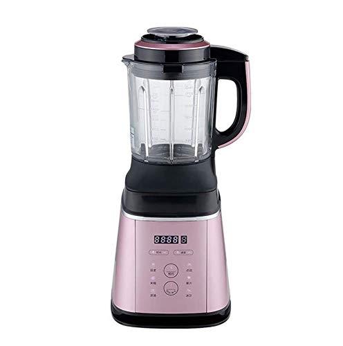 JXWWNZ Standmixer Smoothie Maker, 1000W Smoothie Blender, Schleifer und EIS-Zerkleinerungsmaschine, 58000 U/min, 1.75L Tritan-Behälter ohne BPA,Rosa