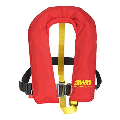 AWN Rettungsweste 150 N Aufblasbare Kinder Schwimmweste 3001S Automatik integrierter Lifebelt