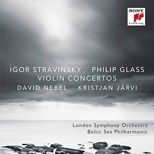 Philip Glass / Igor Strawinsky: Violinkonzerte