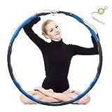 Hula Hoop, Hoola Hoop Reifen erwachseneZur Gewichtsreduktion und Massage, 6-8...