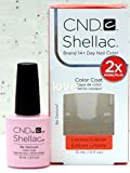 New Size! GelColor CND Large Shellac Gel Polish 15ml-0.5fl.oz/Choose Any Color Large 0.5fl.oz - Be Demure