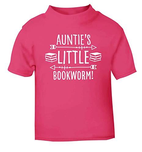 Flox T-Shirt créatif pour bébé Tatie Little Bookworm - Rose - 1-2 Ans
