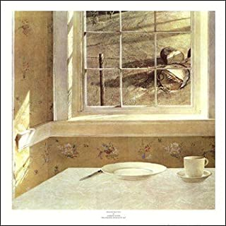 Ground Hog Day Art Poster Print Andrew Wyeth (Overall Size: 20x20) (Image Size: 18x17.5)
