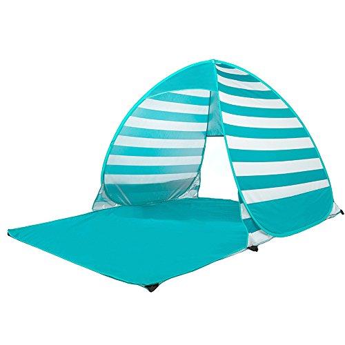 MUYUNXI Anti-muggen 3-4 Persoon Draagbare Outdoor Tent Camping Tent Dubbele Zonbescherming Vissen Strand Automatische Hand Gooi Field dfa Camping Tent