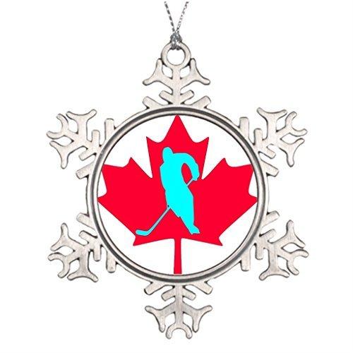 VinMea Snowflake Metal Ornament Best Friend Snowflake Ornaments Canada Snowflake Ornaments Christmas