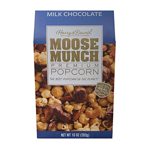 Harry & David Milk Chocolate Moose Munch with Cashews & Almonds, 10oz