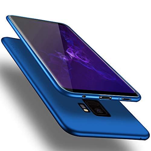 X-level Samsung Galaxy S9 Hülle, [Guardian Serie] Soft Flex TPU Hülle Superdünn Handyhülle Silikon Bumper Cover Schutz Tasche Schale Schutzhülle für Samsung Galaxy S9 5,8 Zoll - Blau