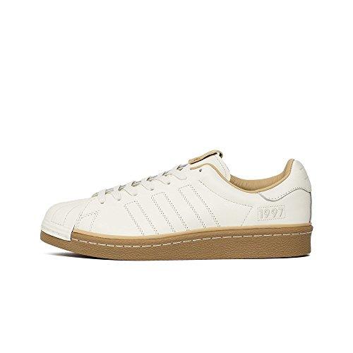 Adidas - Consortium Superstar Boost X Kasina Taesahae - CM8002 - El Color: Beige-Blanco - Talla: 45.3