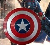 LXY Action Figures Capitán América Escudo Accesorios De Mano Figuras De Acción Todo Metal Decoración...
