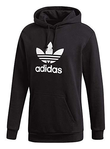 adidas Trefoil Logo - Sudadera con capucha para mujer Negro XL