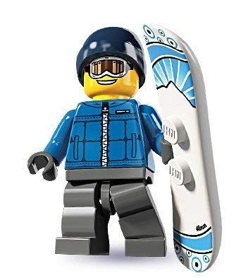 LEGO 8805 - Minifigur Snowboarder aus Sammelfiguren-Serie 5