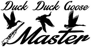 A/X Autosticker 14,3 cm* 7,3 cm eend gans meester Aniaml stickers stickers auto styling S4-0312