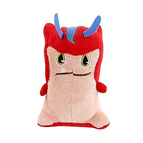 PAINUR Peluche Slugterra Elf Series Red Elf Doll Peluche Juguete Anime Ragdoll Niño Juguete Regalo De Cumpleaños 15Cm