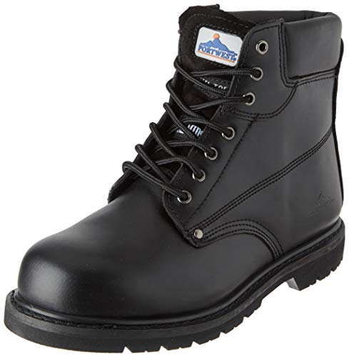 Portwest FW16 - Boot welted 48/13 PAS, color Negro, talla 48
