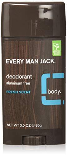 Every Man Jack Aluminum Free Deodorant Fresh Scent Pack of 2