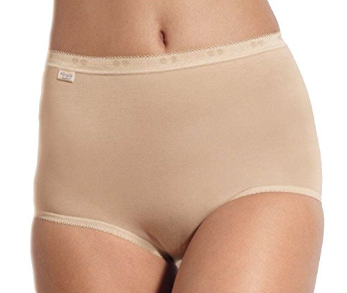 Sloggi Women's Basic+ Slip Maxi Briefs, Skin, 18 (Pack of 4)