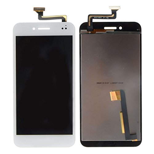 Senden Nach-Test IPartsBuy for Asus PadFone S PF500KL / PF500KL / PF500 / t00n LCD-Schirm + Touch Screen Digitizer Assembly Zubehör (Color : White)