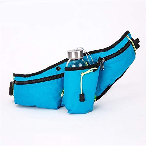 ZHDIN Bolsillos de montañismo al aire libre, botella de agua, montar a caballo multifunción, correr, bolsa de teléfono móvil, bolsa de pecho personal, bolsillos impermeables de ocio