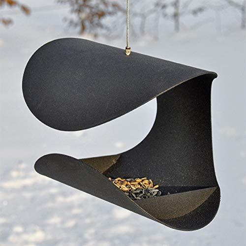 VOSS.garden Vogelfutterhaus Chair im exklusiven dänischen Design - Vogelhaus Vogelstation Futterhaus Vogelhäuschen Futterhaus Vogelfutterstation
