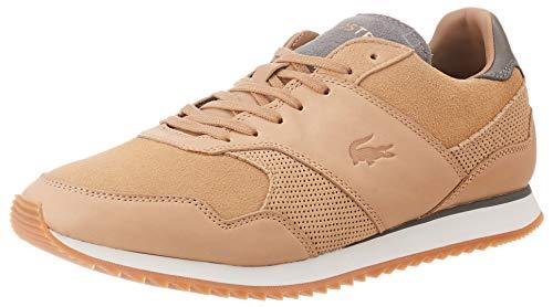 Lacoste Mens 739SMA0034AFR_42 Sneaker, Braun, EU