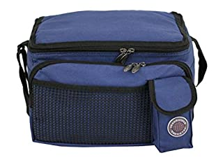 """Transworld Durable Deluxe Insulated Lunch Cooler Bag (Many Colors and Size Available) (12""""x10""""x8 1/2"""", Navy) (B0023TOLTW) 