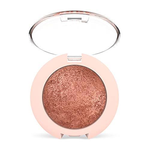 Golden Rose Nude Look Pearl Baked Eyeshadow - 02 Rosy Bronze