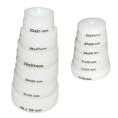 12 Druckplatten für Einpresswerkzeuge/Uhrenschließer von S1 Deluxe®