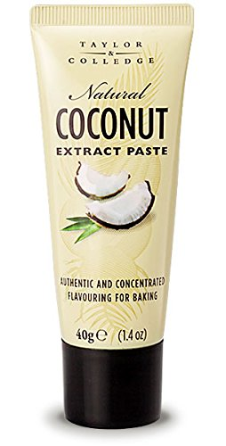 Taylor & Colledge Extract Paste, Coconut, 1.4 Ounce