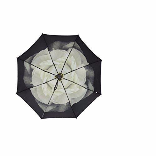 SFSYDDY-Ultra lichte paraplu mini paraplu dual-Purpose zwarte lijm paraplu zonnebrandcrème en zonnescherm paraplu.G