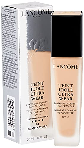 Lancome Base de maquillaje teint idole uso ultra 04 Beige Nature, 30 ml