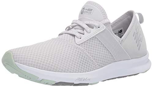 New Balance Women's FuelCore Nergize V1 Sneaker, Summer Fog/Mint Chalk/White, 5