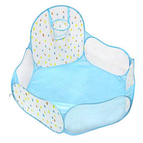B Blesiya Piscine à Balles pour Enfant Tente de Jeu Bébé Portable Baby Océan Boule Piscine