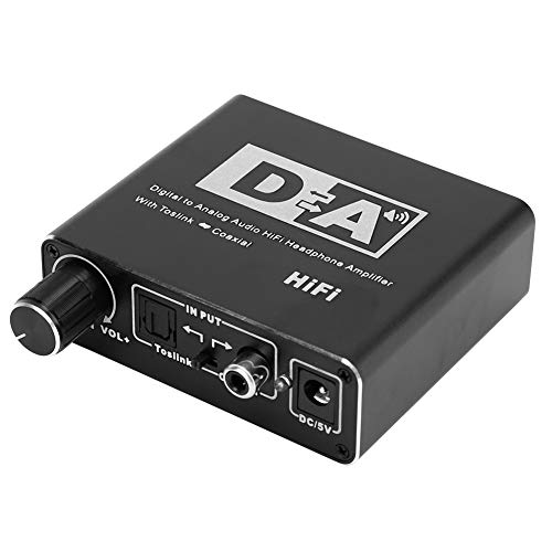 Professional Volume Control Knob Coax Audio Converter, Fiber Audio...