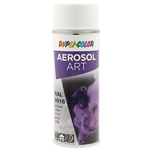 DUPLI-COLOR 741449 Aerosol Art, RAL 9016 Verkehrsweiß Glänzend