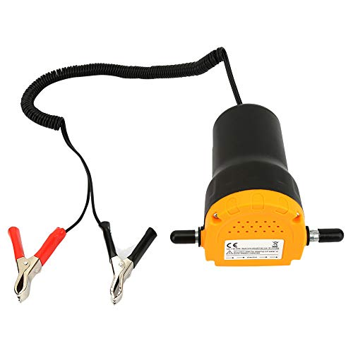 Weikeya Mini Oil Transfer Pump, Clip Connection Abs Plastic DC12V Automotive Diesel Engine