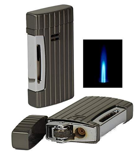 Lifestyle-Ambiente Windmill Feuerzeug Windmaster 2 Jetflamme Feuerstein Gun inkl Tastingbogen