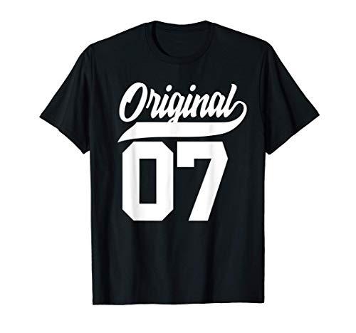 14.Geburtstag Geschenk Jungen Mädchen Original Jahrgang 2007 T-Shirt