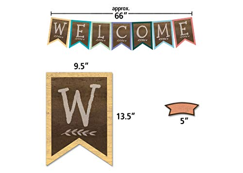Home Sweet Classroom Pennants Welcome Bulletin Board Photo #2