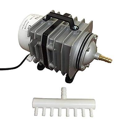 Finest-Filters Pond Air Pump Koi Fish Pond Hydroponic Piston Compressor Fish Tank Aquarium 20-90l/m (60 Litres/Min)