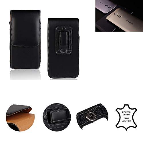 K-S-Trade® Holster Gürtel Tasche Für Ulefone Gemini Handy Hülle Leder Schwarz, 1x